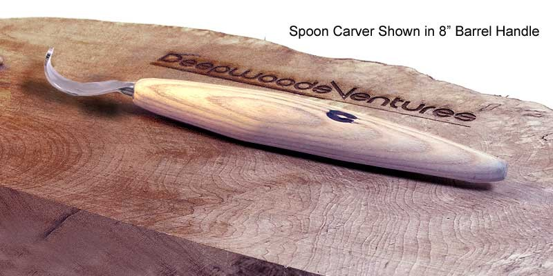 Spoon Carver - Barrel Handle
