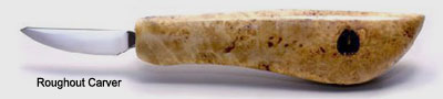 Roughout WoodCarving Knife image
