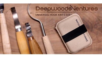 General Roughout Carver - Plain Wood Handle Carving Knife
