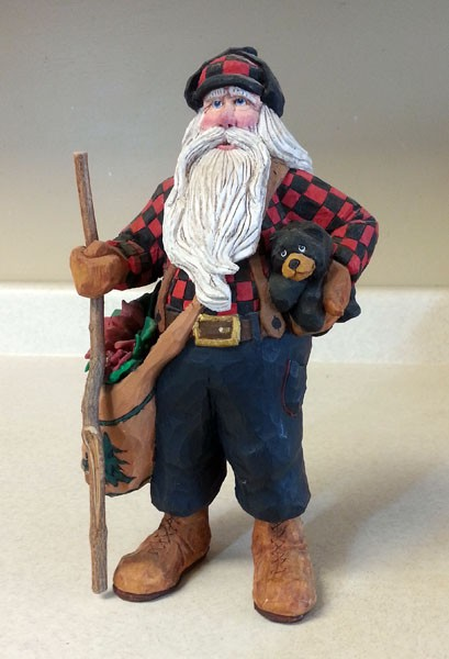 Lumberjack Wood Carving