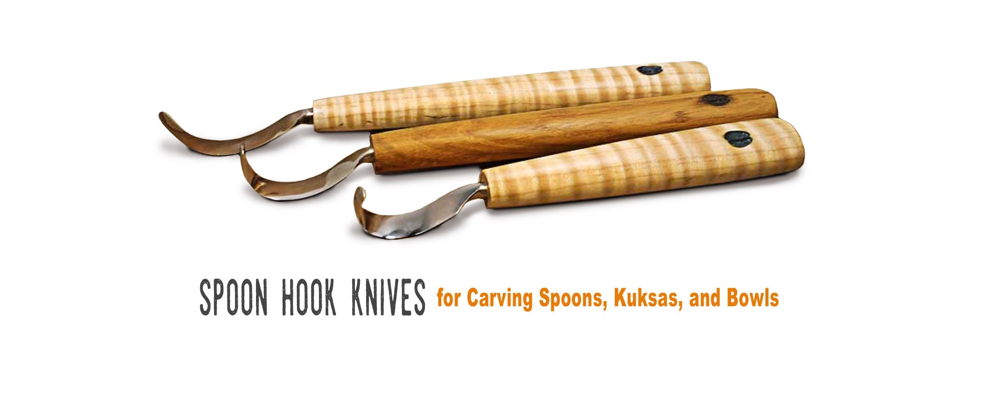 What are the best knives for carving spoons, and kuksa.